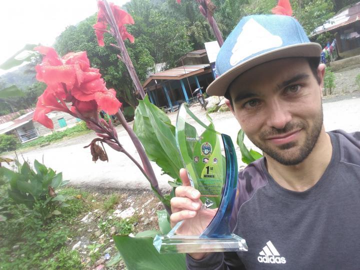 photo of Michele Ramazza with award